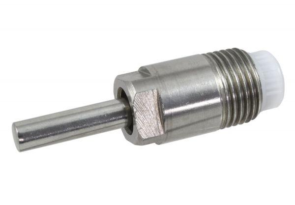 Trognippel PREMIUM-LINE 1/2 Zoll, 65mm, NIRO, Stiftnippel zur Wasserversorgung von Schweinen