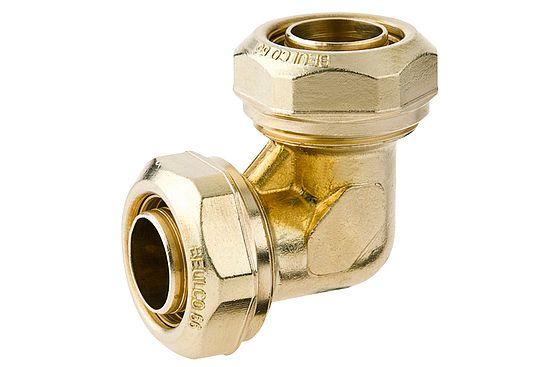 BEULCO Winkelkupplung 90° 1 Zoll, 32x2,9mm, Verbindungskupplung mit 2 gleichen Rohranschlüssen