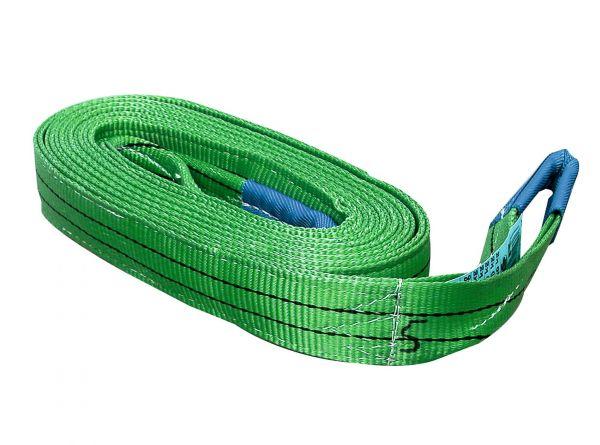 Hebeband 2m, grün, bis zu 4000kg, Rundschlinge zum Heben und Transportieren von Lasten