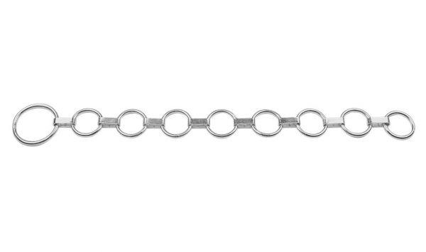 Flachglieder-Halsband 90cm mit 8 Ringen, Halsband für Rinder und Kühe