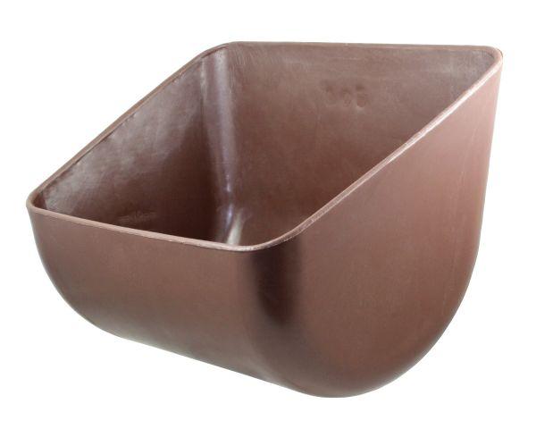 OK-Plast® Futtertrog 12 Liter, 45x34x32cm, Rechtecktrog für Rinder und Pferde