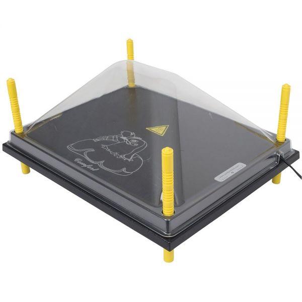 Schutzabdeckung 40x50cm, für Wärmeplatte Comfort, Kunststoff (PET), Abdeckung, Schutzhaube