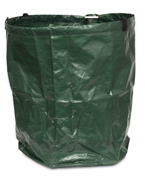 Windhager® Laubsack XXL 270 Liter, Ø68x75cm, Gartentasche für Laub und Gartenabfälle