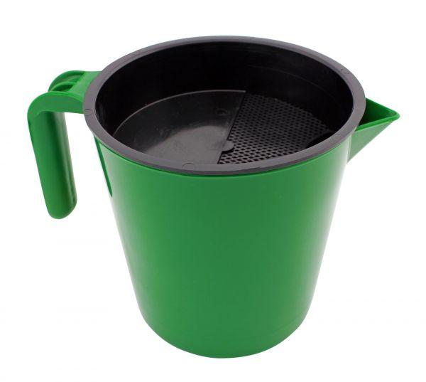 GEWA Vormelkbecher, 1 Liter, zur Kontrolle der ersten Milchstrahlen und zur Mastitisvorbeugung
