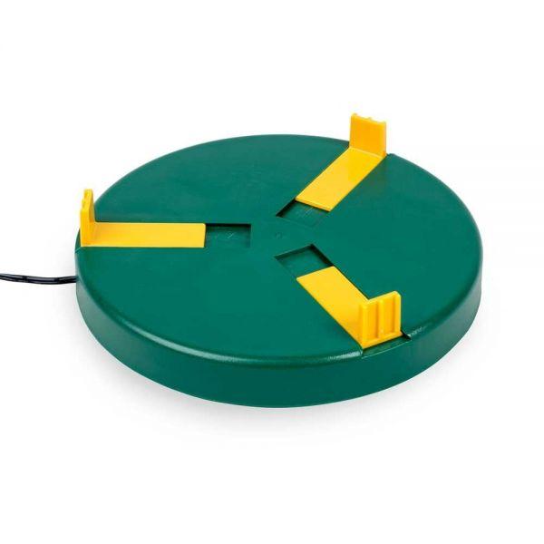 Tränkewärmer Ø20cm (24V, 12W) Heizplatte, Wärmeplatte für Geflügeltränken inkl. 230V Netzadapter