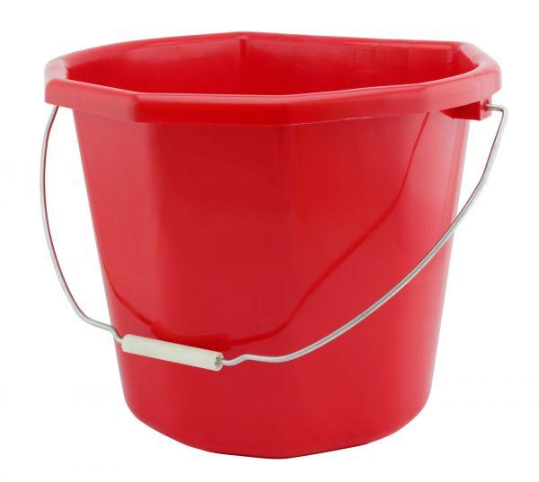 GEWA Mehrzwecktrog JUMBO, 20 Liter, ohne Aufhängehaken, Futtertrog für Pferde, farblich sortiert