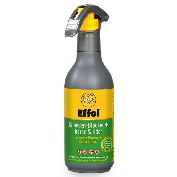 Effol® Bremsen-Blocker Horse+Rider 250ml, Bremsenschutz und Fliegenabwehr für Pferd und Reiter