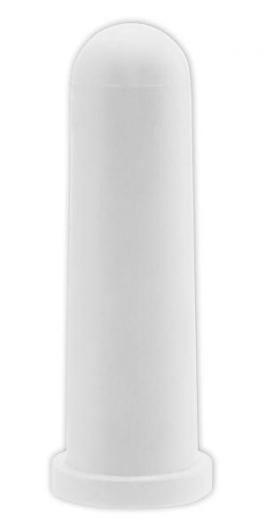 5x GEWA Kälbersauger, konisch, weiß, 10cm, Kreuzschlitz, Sauger für den Einsatz an Tränkeeimern
