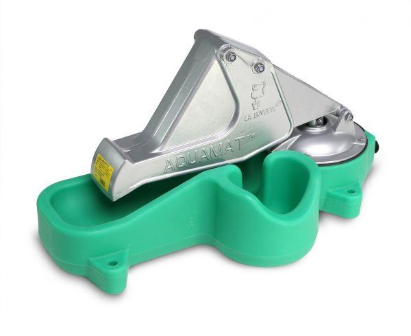 La Buvette® Weidepumpe Aquamat II MK, Weidetränke mit Zusatzbecken für Mutterkuh und Kalb