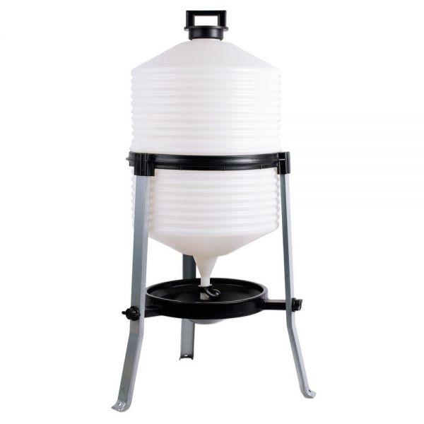 Siphontränke 30 Liter, Kunststoff, Geflügeltränke für Hühner und verschiedene Geflügelarten