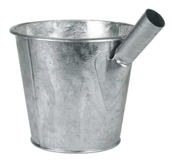 Jaucheschöpfer 6,5 Liter, verzinkt, Wasserschöpfer, ohne Stiel