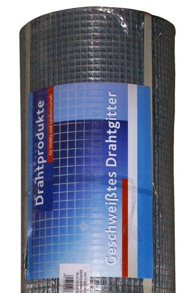 hadra® 5m Punktgeschweißtes Gitter 19,0 x 1,45 x 1010 mm, verzinkt, Volierendraht, Drahtgitter