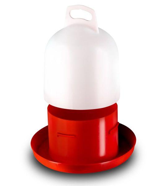 Original Stükerjürgen Doppelzylindertränke CLEAN, 3 Liter, Geflügeltränke, für Hühner und Geflügel