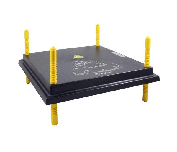 Küken-Wärmeplatte Comfort 40x40cm, 38 Watt, Wärmeplatte für die Kükenaufzucht