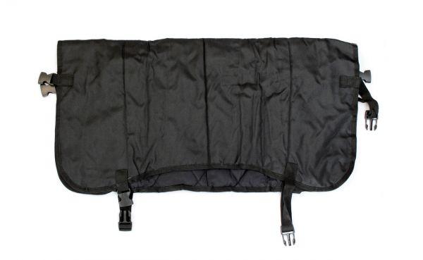GEWA Kälberdecke gesteppt, schwarz, 70cm, schützt Kälber vor Regen und Kälte