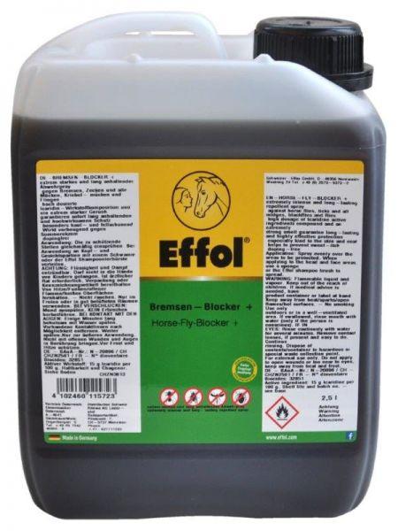 Effol® Bremsen-Blocker+ 2,5 Liter, Bremsenschutz und Fliegenabwehr für Pferde