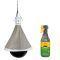 Kerbl Bremsenfalle TaonX Eco + Effol® Bremsen-Blocker+ 500ml, Fliegen- und Bremsenschutz für Pferde