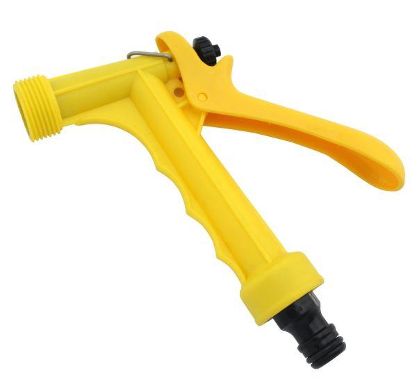 GEWA Wasserbrause Kunststoff, Handbrause, Abspritzbrause, Pistolenspritze mit Schnellkupplung