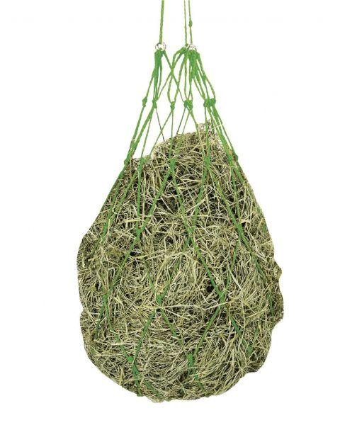 Heunetz grobmaschig 10x10cm, grün, Futternetz für Pferde