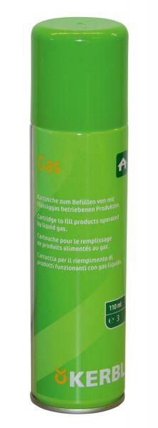 Kerbl Gaskartusche 110ml für Gasenthorner GasBuddex, Ersatzkartusche
