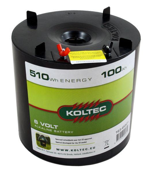 Batterie Alkaline 6 V 100 Ah für Koltec ST