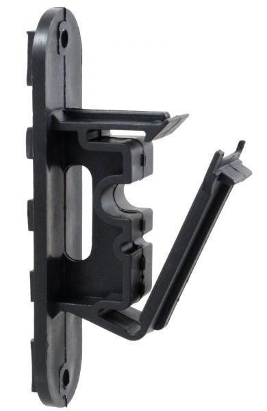 25x Bandisolator VARIO zum Anschrauben, mit Klippverschluss für Weidezaunband, -Seil und Litze