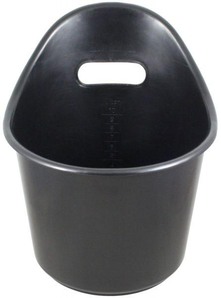 Original Butjenter Kälberstapfen, 10 Liter, schwarz, Kälbertränkeeimer, Universaleimer