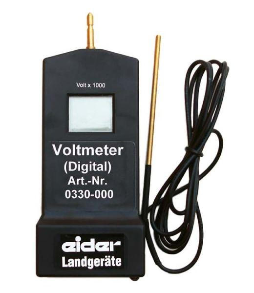 Eider Digital-Voltmeter, 100 bis 10.000 Volt, Spannungsmesser für Weidezaun und Weidezaungerät