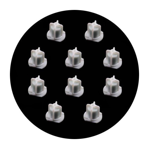 10x Bovi-Bond® Verschlusskappen für 2-Komponentenkleber 180ml, Kappen für Klauenkleber