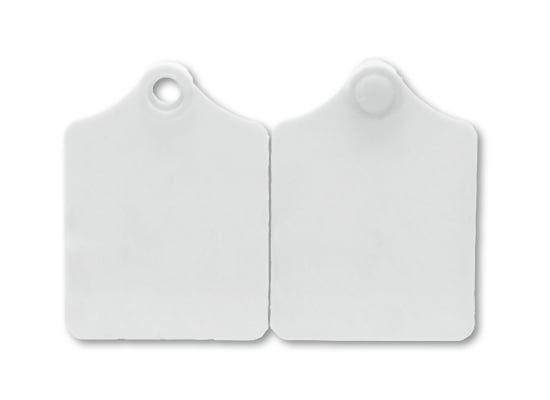 25x Primaflex Ohrmarken, Größe 2 (61x45mm), blanko, für Rinder und Kühe