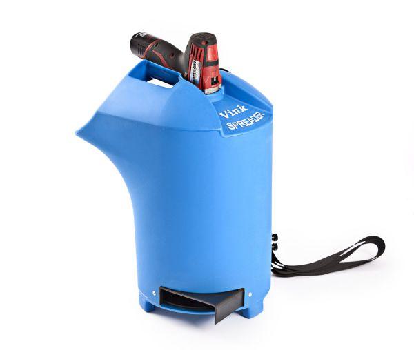 Vink Einstreugerät 20 Liter für Kalk, Pulverstreuer für Boxenlaufställe und Liegeboxen
