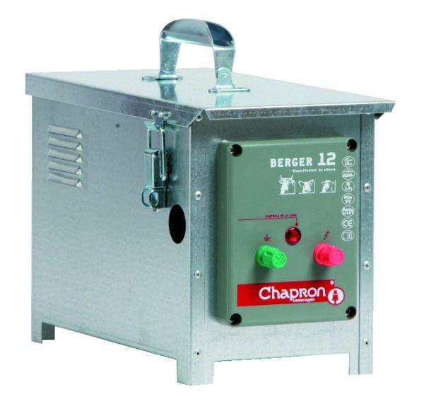 Chapron Weidezaungerät BERGER 12, 12 Volt Batteriegerät für Rinder, Schafe, Schweine
