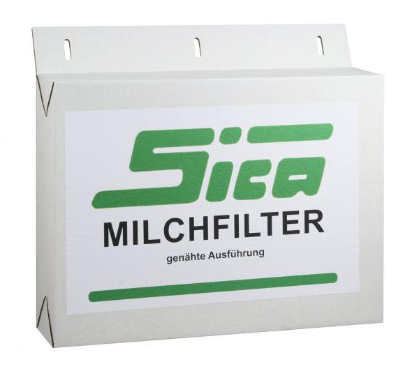 250x SICA Milchfilterschläuche 815x75mm, genäht, Milchfilter für Melkmaschinen und Absauganlagen