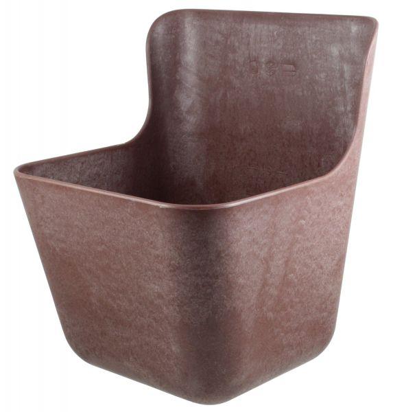 OK-Plast® Kraftfuttertrog 11,5 Liter, 28x28x38cm, Futtertrog für Zusatzfutter