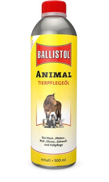 Ballistol® Animal Tierpflegeöl 500ml, für die Haut-, Fell-, Ohren- und Hufpflege