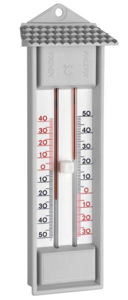 TFA Thermometer Minima-Maxima, zur analogen Minimal-Maximal Temperaturanzeige, 10.3014.14