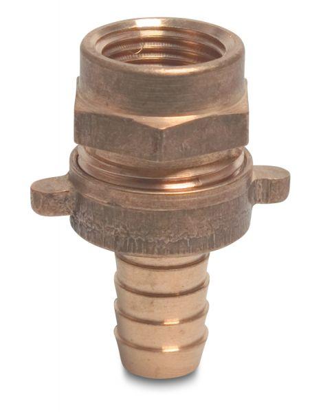 3//4 Zoll IG x 13mm flachdichtend Schlauchverschraubung Messing reduziert