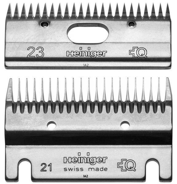 Heiniger Schermessersatz 21/23 Zähne, Standard Schermesser für Rinder