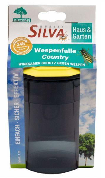 SILVA® Wespenfalle Country, giftrfeie und umweltfreundliche Falle zur Wespenbekämpfung