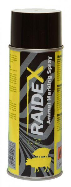 Raidex® Viehzeichenspray 400ml Gelb, Markierungsspray zur Kennzeichnung von Tieren