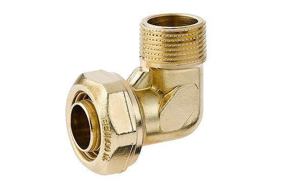 BEULCO Winkelverschraubung 90° 3/4 Zoll AG, 25x2,3mm, Rohranschluss und Außengewinde
