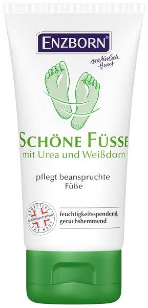 Enzborn® Schöne Füße Cremegel 75ml Tube, mit Weißdorn für die tägliche Pflege der Füße