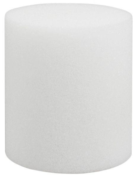 10x Universal-Reinigungsschwamm, Ø40x70mm, zum Reinigen von Rohrleitungen im Lebensmittelbereich