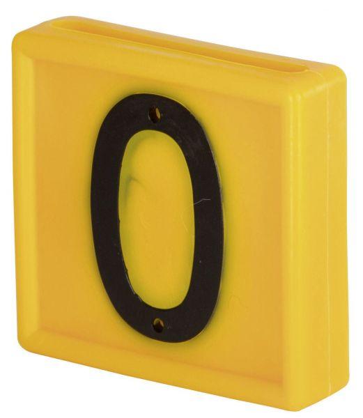 Nummernblock Standard, gelb, Block-Nummer: 0 (NULL)