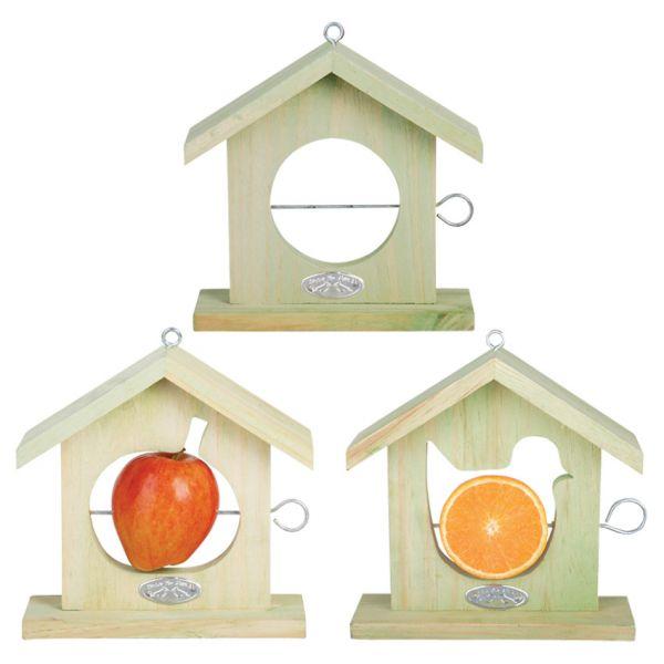 Esschert Design Futterhaus Apfelhäuschen, sortiert, Futterstation für Vögel, FB12