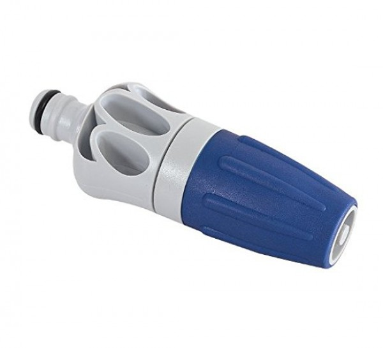 Siro Soft® Spritzdüse mit Soft-Grip Struktur, Spritze für den Gartenschlauch