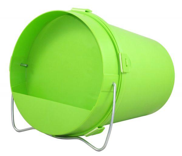 Geflügel-Tränkeeimer 5,5 Liter, Kunststoff, Eimertränke für Hühner, Gänse und Puten
