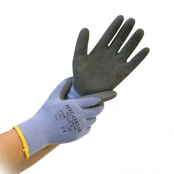 HYGOSTAR® Thermo-Handschuhe THERMO-GRIP Größe 9 (L), Winter-Arbeitshandschuh