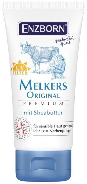 Enzborn® Melkers Original Premium 50ml Tube, Melkfett mit Sheabutter und UV-Filter