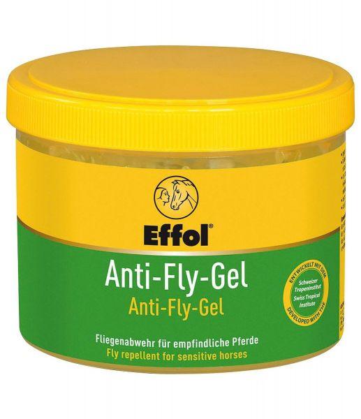 Effol® Anti-Fly-Gel 500ml, langanhaltende Fliegenabwehr, für stark schwitzende, sensible Pferde